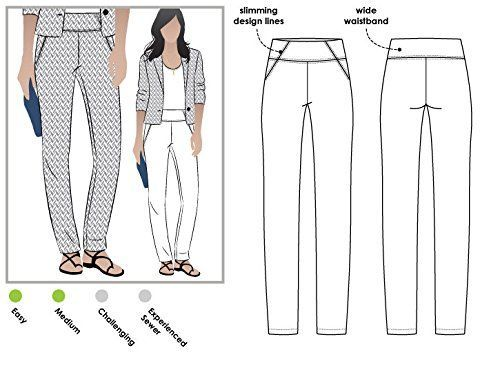Sizes 04-16 Tully Pant Style Arc Sewing Pattern - Click for Other Sizes Available