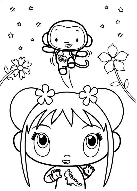 Ni Hao Kai-Lan Tegninger til Farvelægning 42
