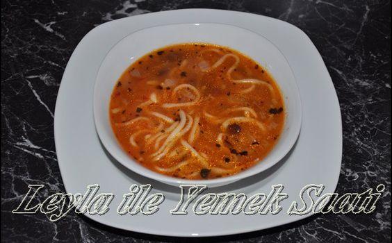 Kesme Çorbası Tarifi - Leyla ile Yemek Saati