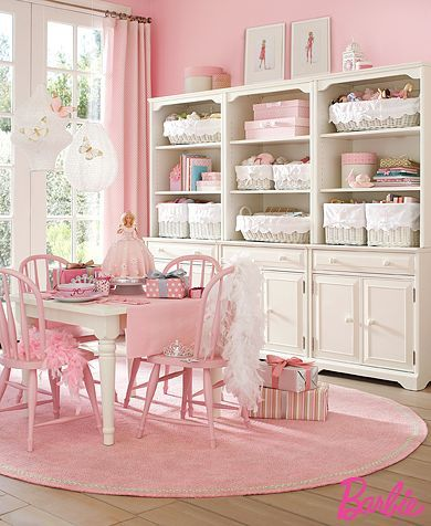 Pretty pink room: