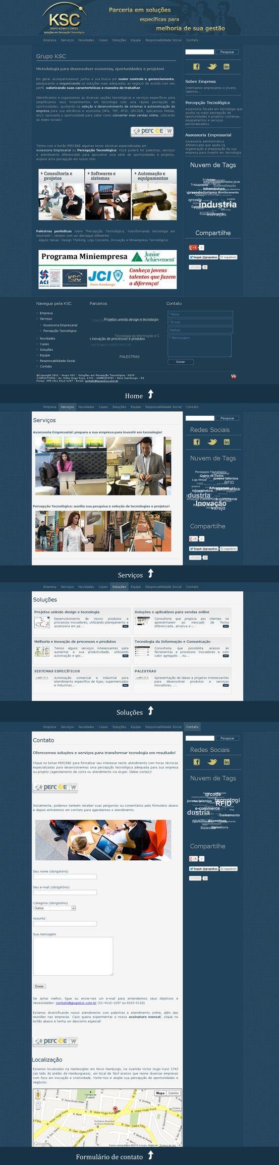 grupoksc.com.br - objetivo: auxiliar as empresas a investirem em tecnologia!