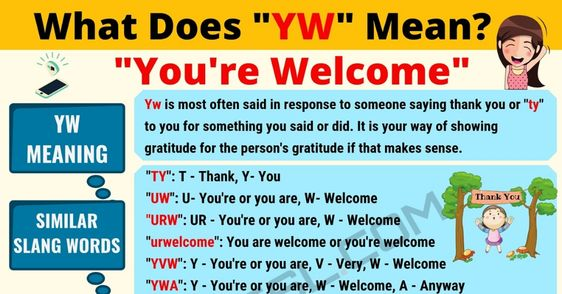 Yw meaning