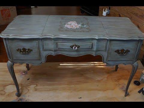 Layering Chalk Paint On Furniture Tutorial Youtube Paint Furniture Chalk Paint Furniture Painting Wood Furniture