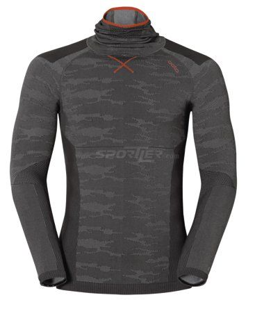 Odlo Blackcomb Evolution warm LS with facemask  Online Shop Intimo funzionale  - Sportler