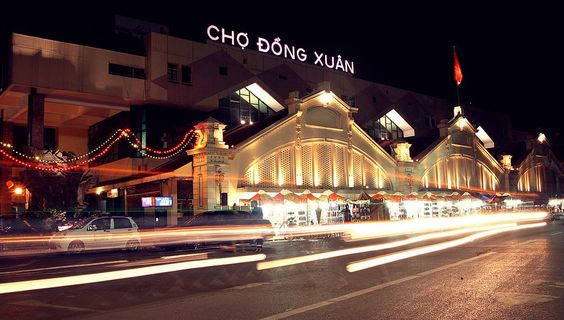 Hanoi one day tour: seeing Dong Xuan market in the Old Quarter- the biggest market in Hanoi