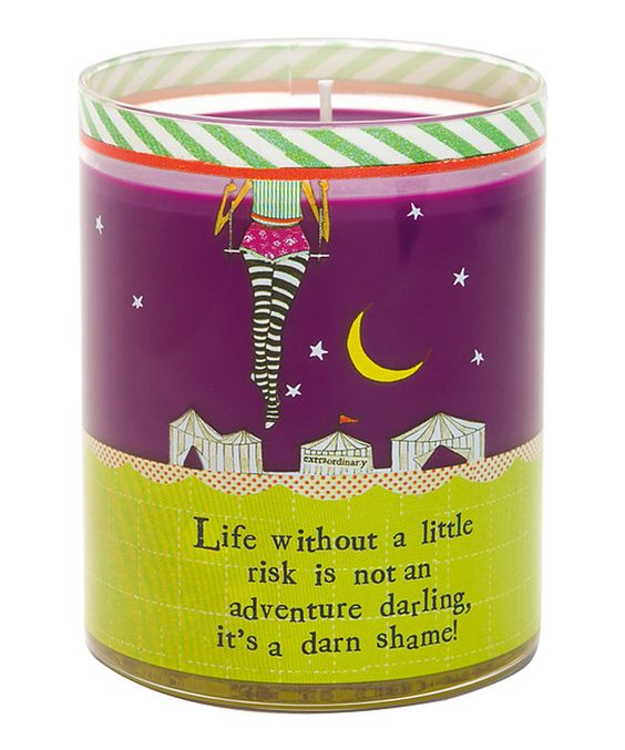 Loving this 'Darn Shame' Filled Candle on #zulily! #zulilyfinds