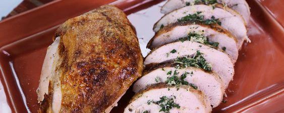 Easy Oven-Roasted Turkey Breast Recipe   The Chew - ABC.com