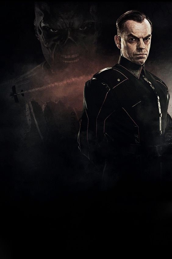 Johan Schmidt/Red Skull. Captain America: The First Avenger. Hail Hydra!: