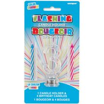 Walmart: Blinking Number 3 Cake Decoration and Candles, 5-Piece Set