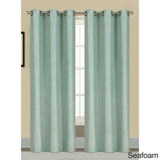 Window Elements Willow Textured Woven 84 Inch Grommet Curtain