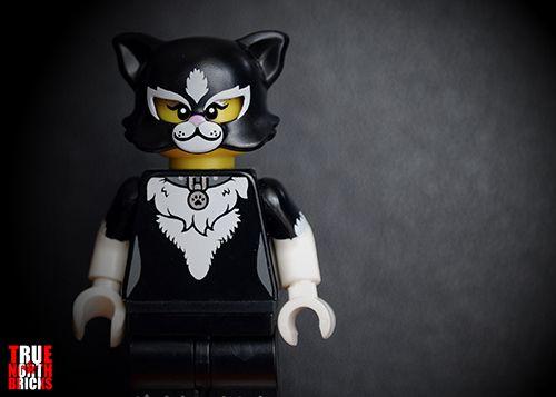 Lego Series 18 Cat Costume Girl minifigure