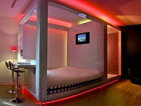 interior design for small room - Very small bedroom, Interior lighting design and Interior lighting ...
