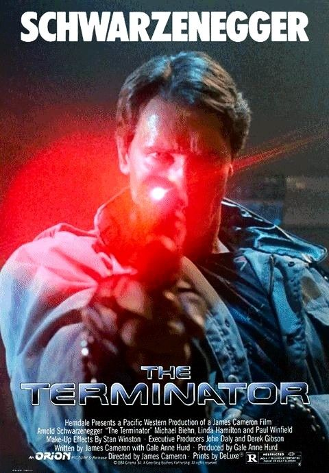 TERMINATOR GENISYS HE/'S BACK MOVIE POSTER FILM A4 A3 ART PRINT CINEMA