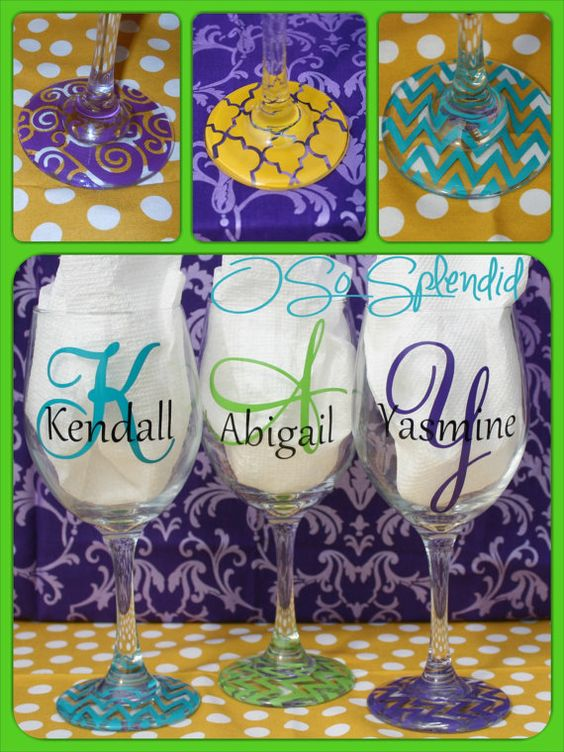 Personalized 20 Oz Wine Glass Forget About Wine Charms