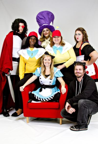 Alice in Wonderland DIY/Store-bought Costumes for a Group