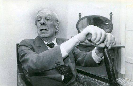 Borges todo el año: Jorge Luis Borges: Gunnar Thorgilsson (1816-1879) - Foto: Borges en 1979, El Diario Montañés