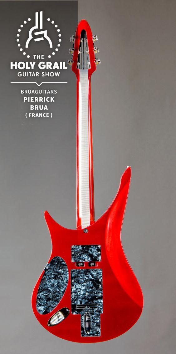 Exhibitor at The Holy Grail Guitar Show 2014: Pierrick Brua, Bruaguitars, France http://www.bruaguitars.com https://www.facebook.com/pages/bruaguitars/230906323627656 http://holygrailguitarshow.com