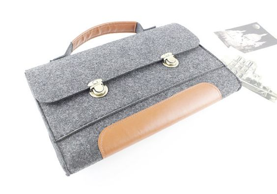 Geschenk Filz Macbook sleeve Macbook Air RS Macbook von FeltSJie
