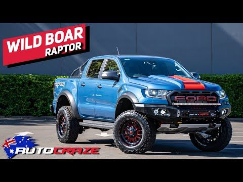 Wild Boar Ford Ranger Raptor Build By Autocraze Youtube In