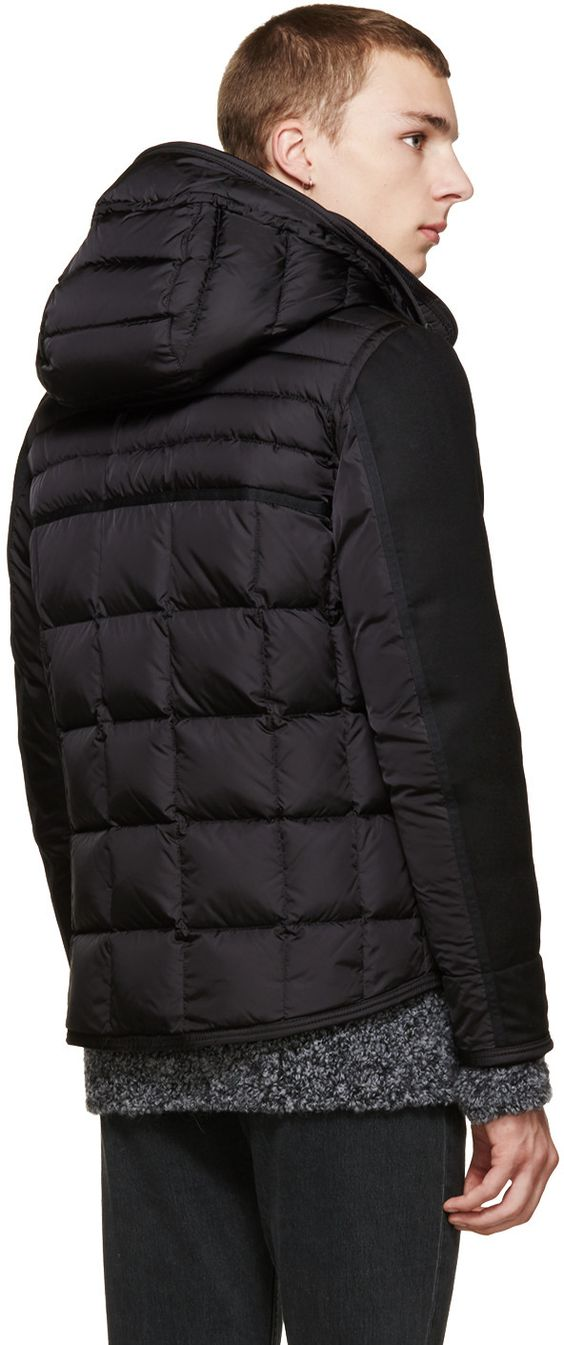 Moncler Black Quilted Ryan Jacket
