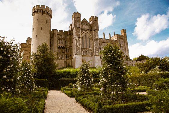 englishcountryhousegoncourt — wanderthewood:   Arundel Castle, West Sussex,...
