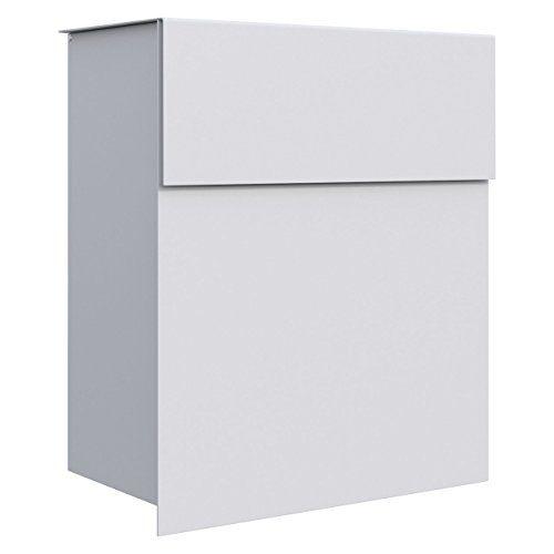 Briefkästen Design briefkasten design wandbriefkasten alto in weiß bravio https
