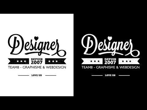 creation logo tuto