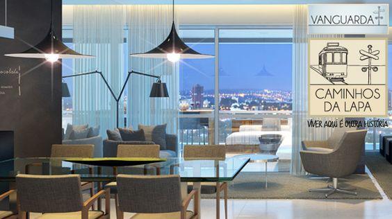 A Brookfield Incorporações apresenta o Caminhos da Lapa - Vanguarda, apartamentos de 128m² a 157m² privativos com 2, 3 e 4 Dorms (1 ou 2 suítes), um projeto que vai mudar a história da Lapa.