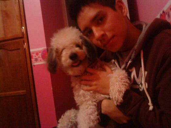Mi hijo y su perrita