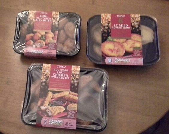 Received a money off voucher from The Orchard at Tesco to try their Party Food. It all cooks at the same temperature. They were delicious & we would highly recommend them. #triedforless