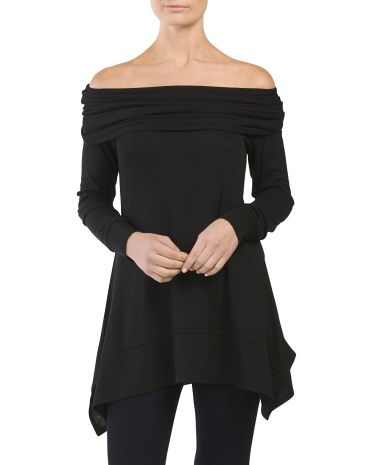 Off+The+Shoulder+Tunic