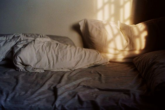 """""""She was made for untidy rooms and rumpled beds.""""    — Alexander McCall Smith, The Sunday Philosophy Club"""