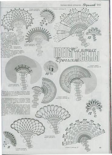 irish crochet motifs Дуплет 93 Кружевной листопад 7 - Мира2 - Picasa-Webalben