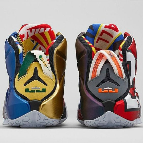 The Nike LeBron 12 'What The' drops this weekend!  Will you be picking up a pair? by sneakeralert