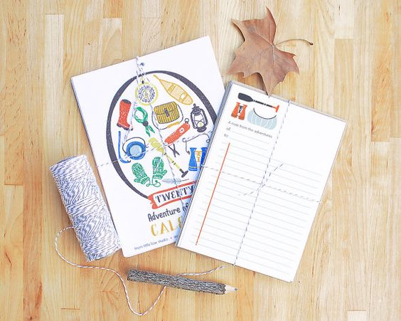 Adventurers Club Stationery Gift Set by @littlelow, $24.00 #stationery #letter #paper #illustration #camping #adventure