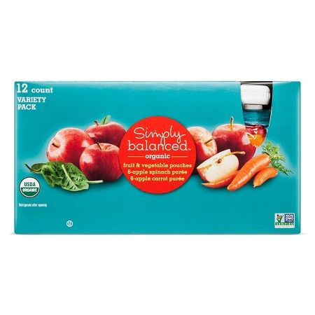 Mixed Fruit & Vegetables Poches Simply Balanced™ - 12 Count $8.99
