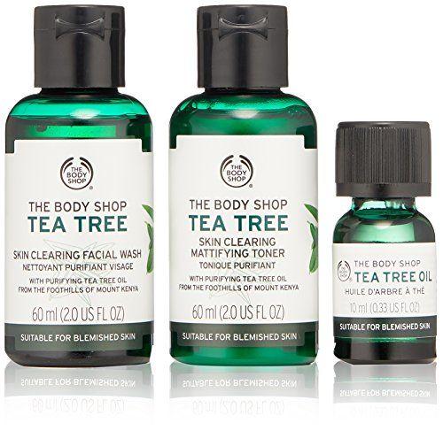 The Body Shop Tea Tree Skin Clearing Essentials Gift Set Https Www Amazon Com Dp B0758lwmng Ref C Body Shop Tea Tree The Body Shop Body Shop Tea Tree Oil