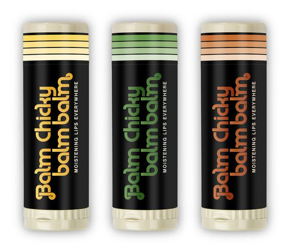 Balm Chicky Balm Balm Threesome of Flavors