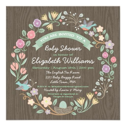 E Invite Baby Shower as adorable invitations layout