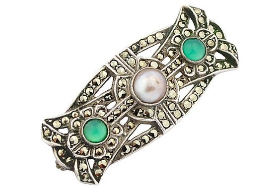 Sterling, Marcasite