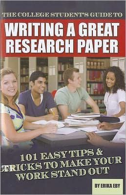 college research paper advice Follow these steps when writing an essay, whether you're writing a college  if  you are given the topic, you should think about the type of paper that you want to   once you have determined the purpose, you will need to do some research on .