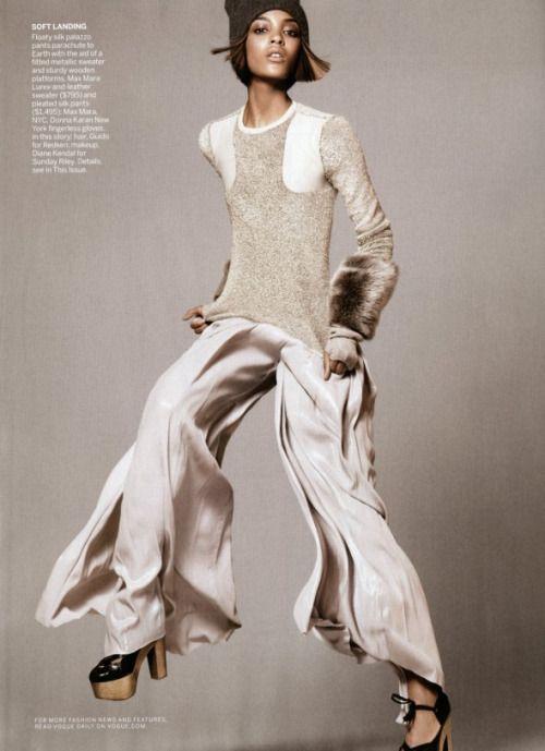 Jourdan Dunn by David Sims for Vogue US September 2011