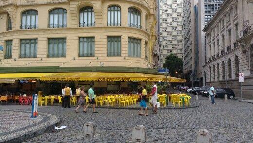 Amarelinho da Cinelândia en Rio de Janeiro, RJ