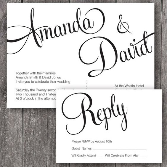 Wedding Wedding Invitation Fonts And Elegant Fonts On Pinterest