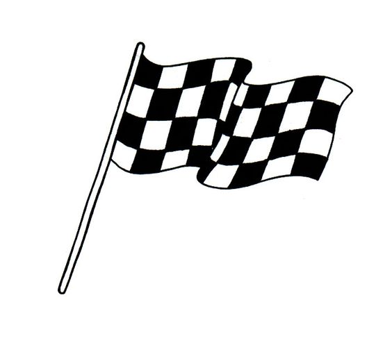 checkered flag coloring pages - photo#20