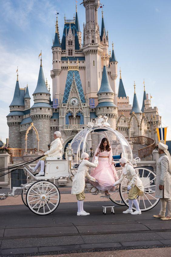 Fairy Tale Wedding at The Disneyland