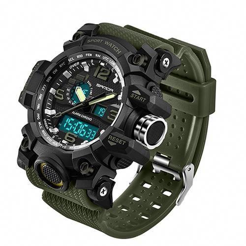Sanda 742 Military Men S Watches Top Brand Luxury Waterproof Sport Watch Men S Shock Quartz Watches Clock Relo Mens Sport Watches Watches For Men Sport Watches