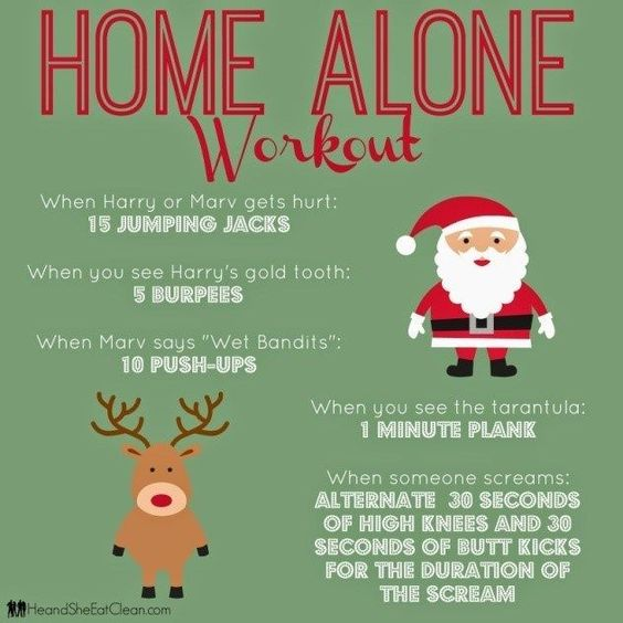 The Home Alone Workout! #FitFluential