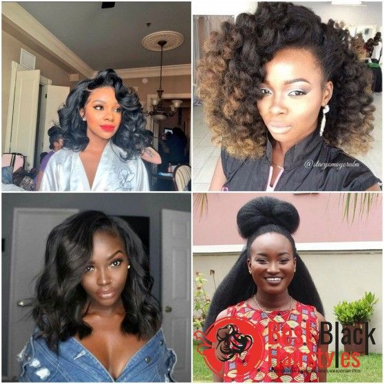 Amazing Hairstyles For African American Women Black Women Hairstyles Hair Styles Cool Hairstyles
