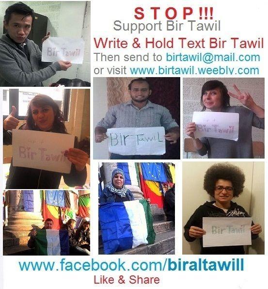 Join Bir tawil State http://ift.tt/1SElRJw Write & Hold Text Bir Tawil post it on Bir Tawil Facebook Page or email to: birtawil@mail.com Bir Tawil اكتب عباره على ورقه وتصور بها وانشرها على صفحه بيرطويل by birtawill